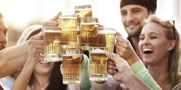 Having a beer or two may ward off Alzheimer's and Parkinson's according to a study.