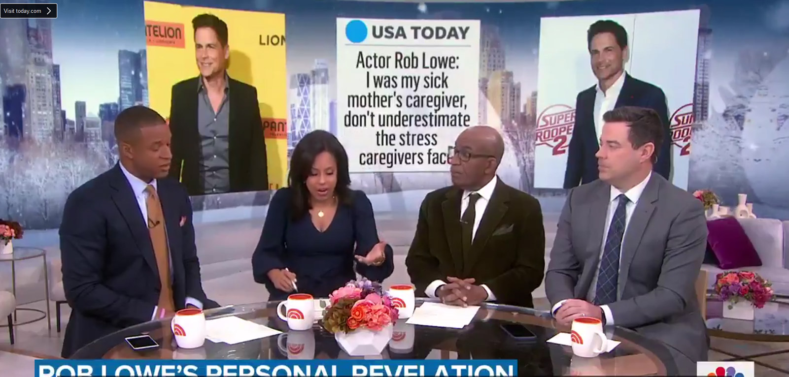 Actor Rob Lowe Says Don't Underestimate the Stress of Being a Caregiver